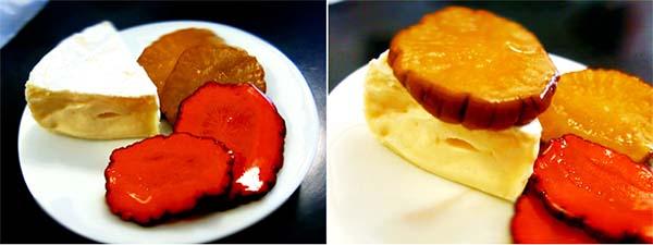 いぶり漬とカマンベールチーズでまろやかな燻製の味を楽しめます