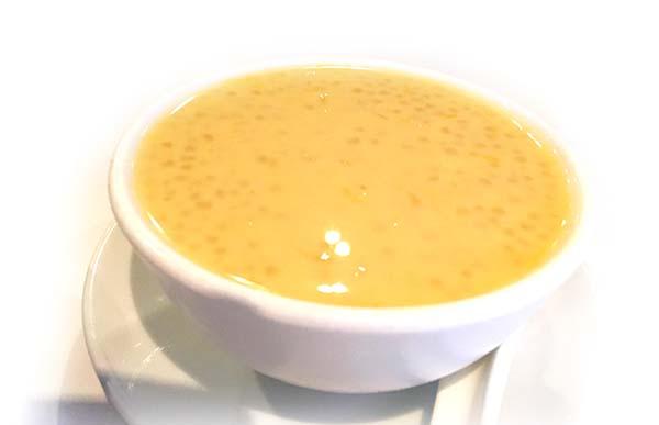 ココナッツミルク(タピオカ入り)