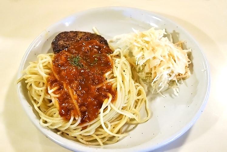 ミニハンバーグスパゲティ