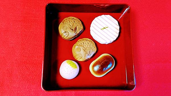 日本橋屋長兵衛の和菓子