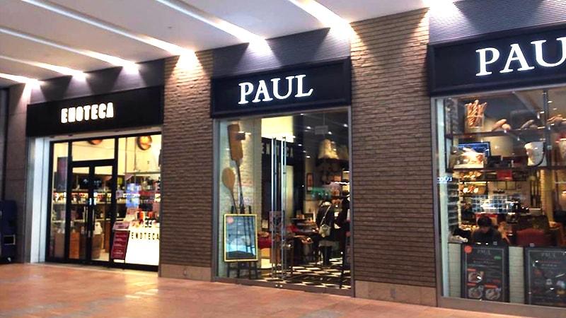 PAUL札幌店とエノテカ