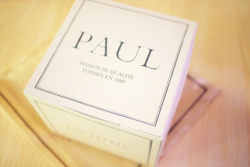 PAULの箱はオシャレです