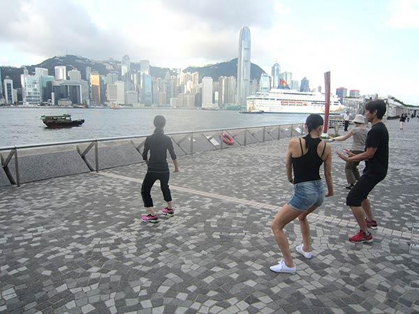 香港の太極拳