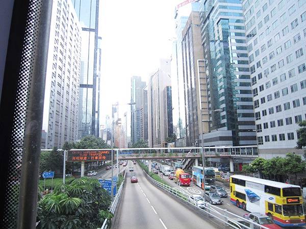 香港の街中