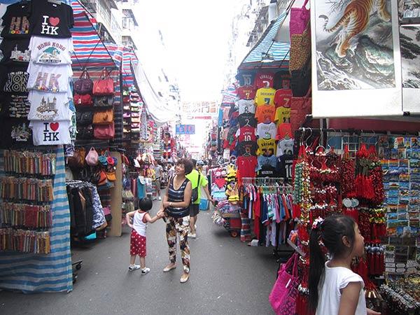 香港のマーケット