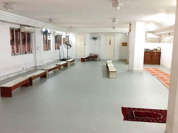 モスクの中です