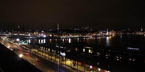 ストックホルムの夜景その2