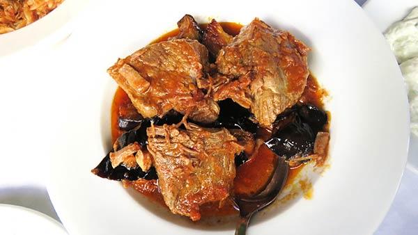 アテネの料理
