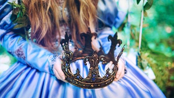 お姫様と王冠