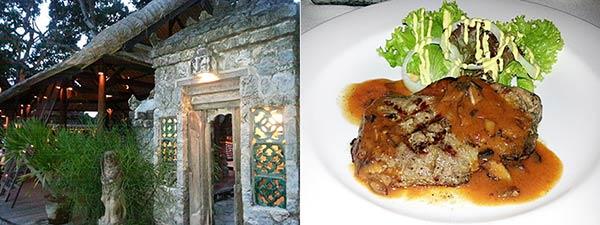 サヌールビーチのレストランと料理