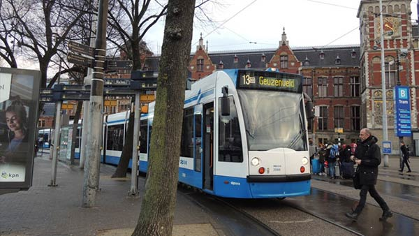 アムステルダムの路面電車:トラム
