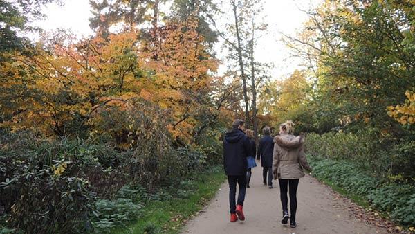 アムステルダムの公園:「フォンデルパーク」