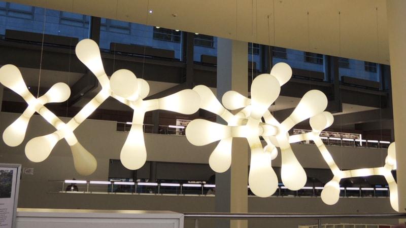 オランダの図書館の空間