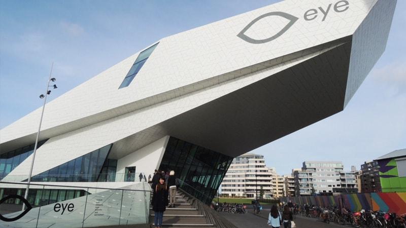 映像ミュージアム「アムステルダムEYE」の外装