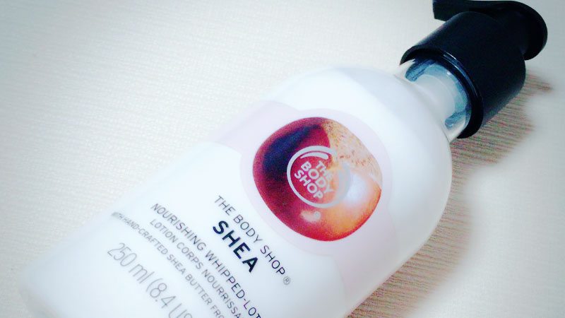 THE BODY SHOPのSHEA