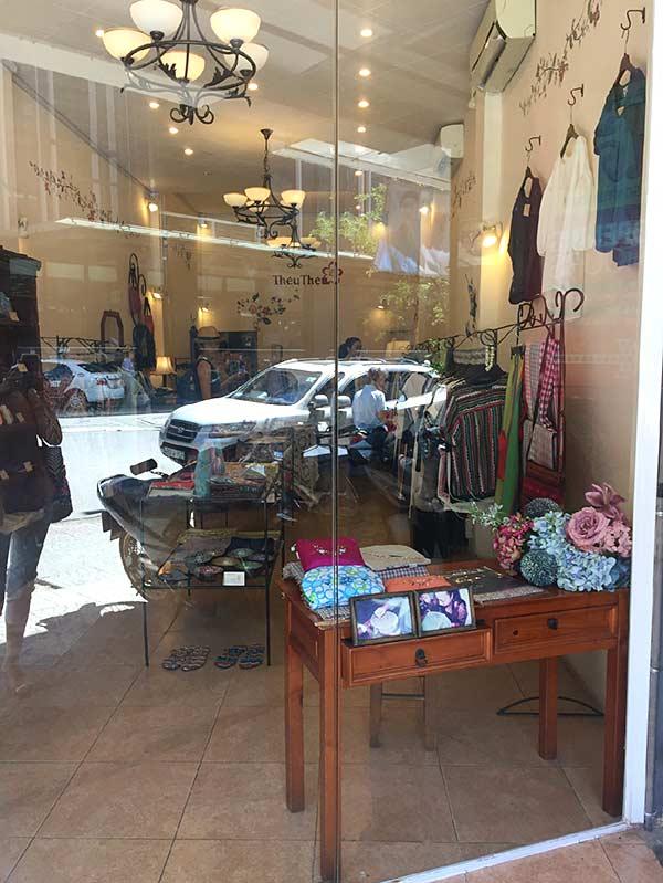 ベトナム刺繍のお店「テウテウ」