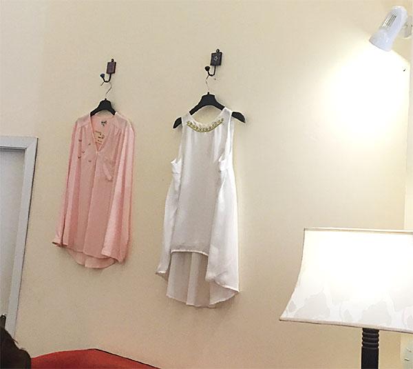 テウテウの洋服