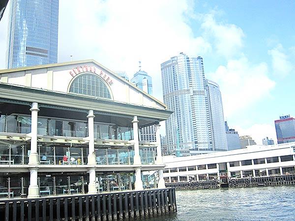 香港のフェリー乗り場 その3