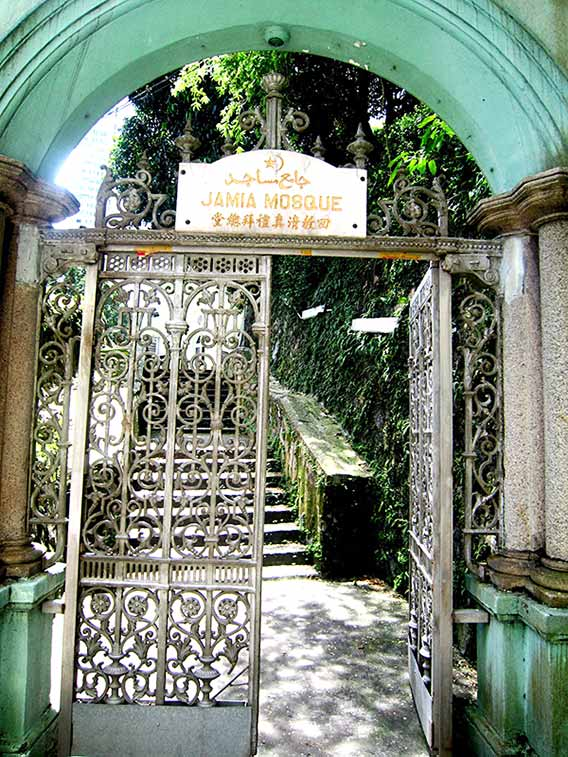 モスクの門