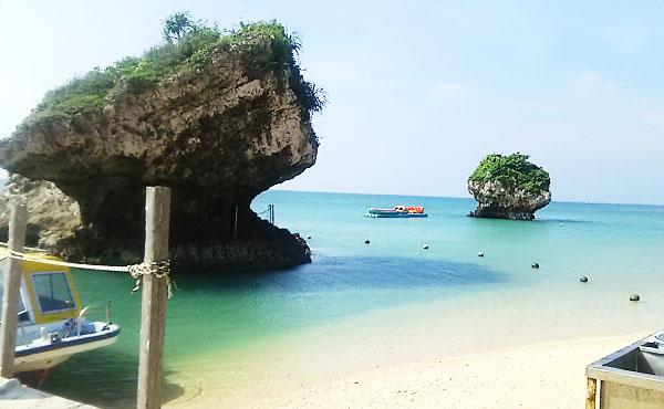 沖縄の新原ビーチ・天然の水族館を楽しんできた!