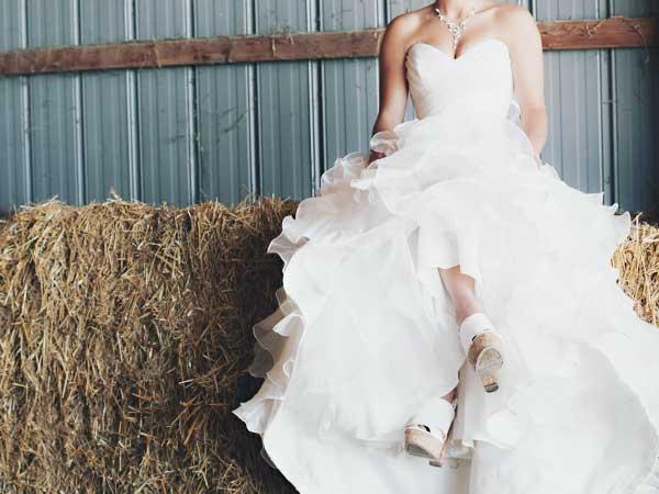 ウェディングドレス「プリンセスライン」