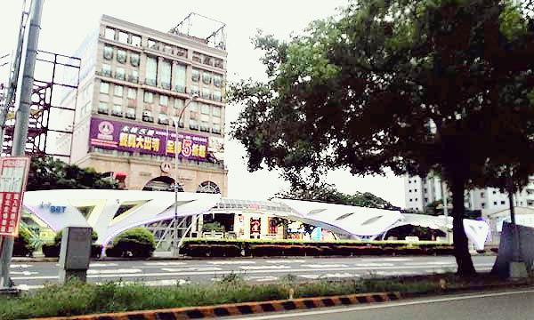 台湾のバス停