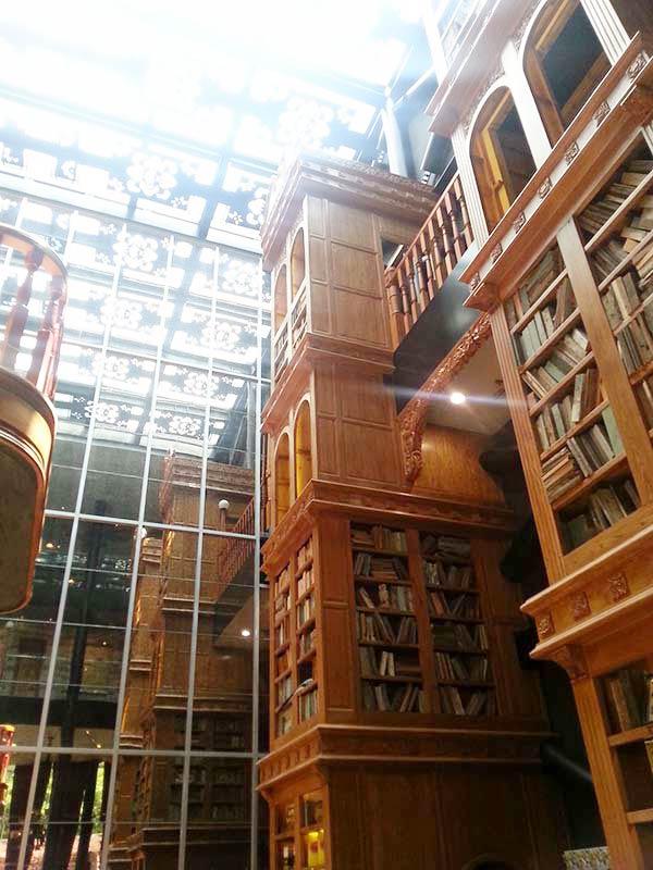 大きな本棚です