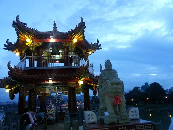 台湾の日暮れ