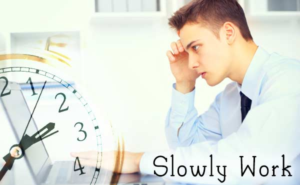 仕事が遅い人の特徴・出来る人になりたいなら逆を実行!