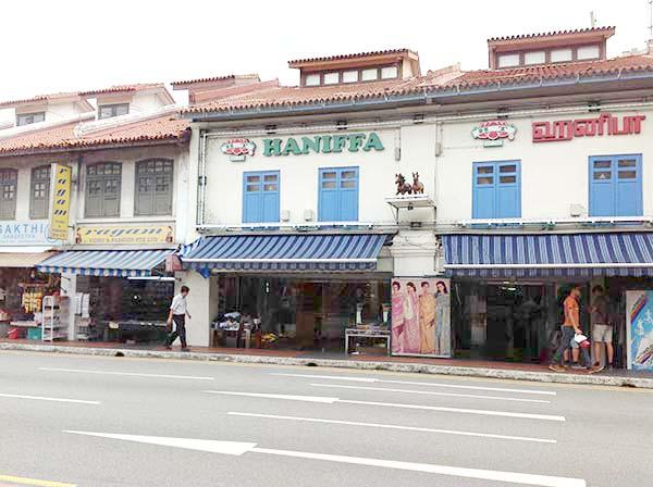 シンガポールのインド人街