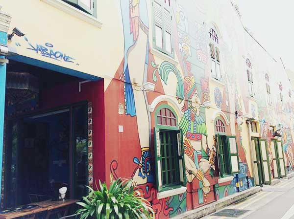 アラブストリートのカフェ通り その2