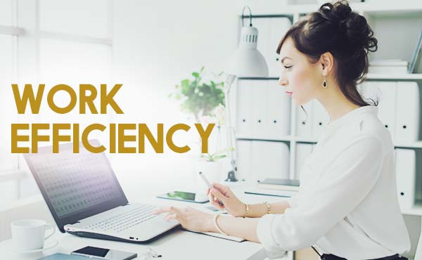 仕事の効率化を実現させる・生産性が上がるテクニック
