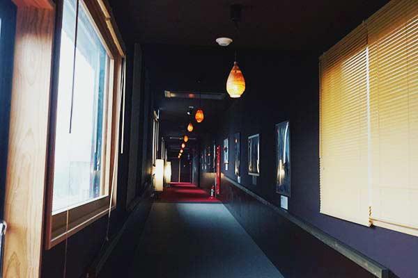 豪円湯院 館内・廊下