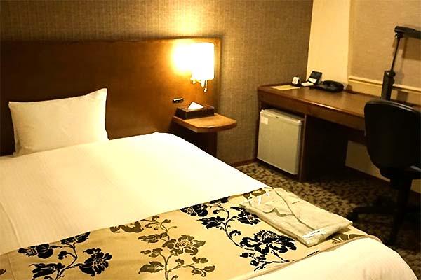 ホテルグリーンモーリス鳥取 部屋内