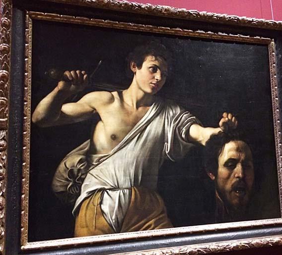 ゴリアテの首を持つダビデ