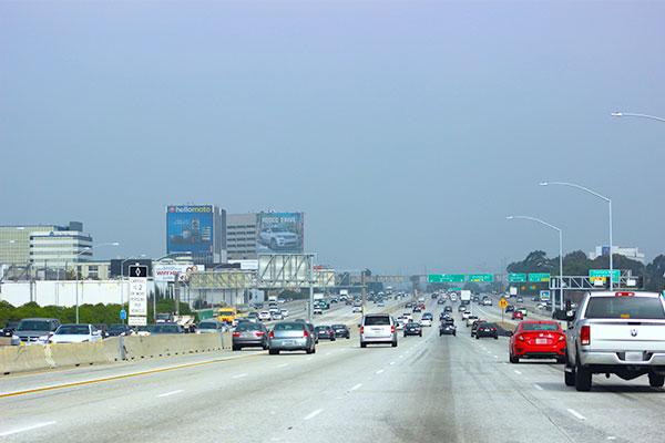 ロサンゼルスのハイウェイ