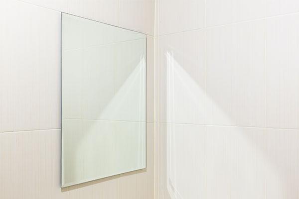 お風呂場の鏡