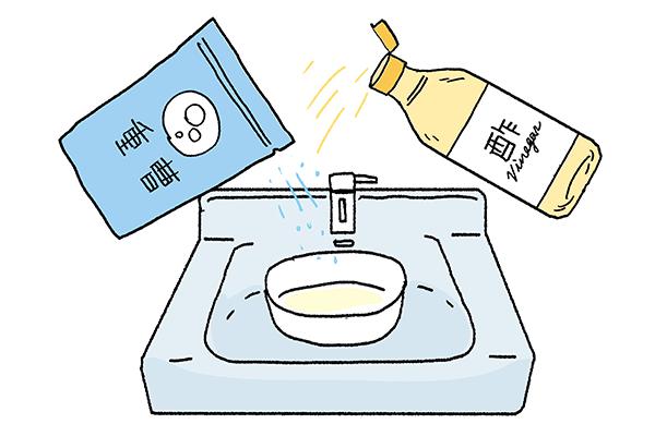重曹とお酢