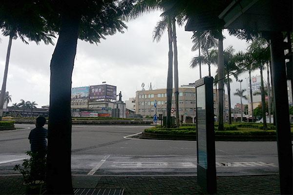台南に到着