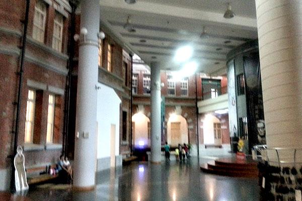国立台湾文学館の中