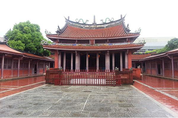 台湾初の学校外