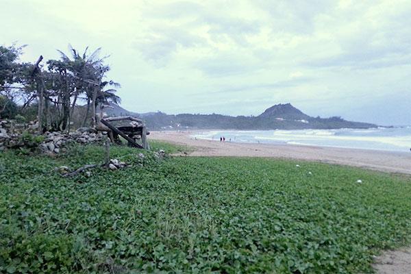 墾丁のビーチ