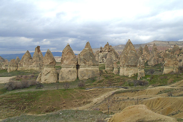 カッパドキアの岩窟群