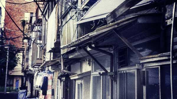 古い住宅街