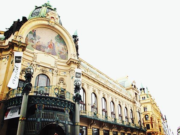 プラハの建物