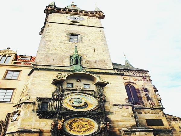 プラハの旧市庁舎