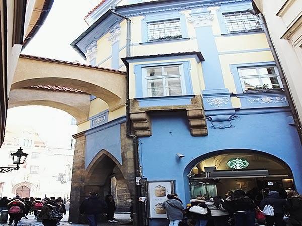 プラハのスターバックス