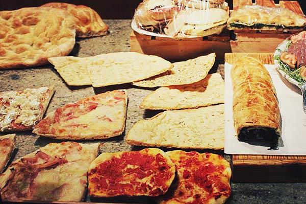 フィレンツェのピザ