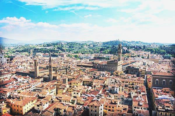 フィレンツェの風景