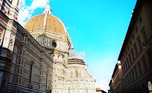 街中が美術館みたいだったフィレンツェで一人旅!
